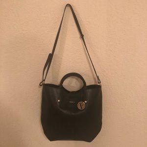 FURLA Black Leather Bag